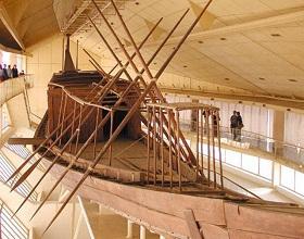 Гиза. Музей Солнечной Ладьи