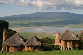 Отели Африки. Ngorongoro Crater Lodge