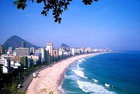 Отдых в Бразилии. Пляж Ипанема.